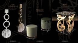 Image 3D de catalogue de design